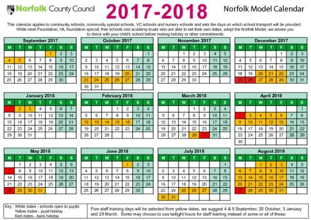 term dates the parkside school