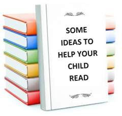 Some Ideas To Help Your Child Read.Logo