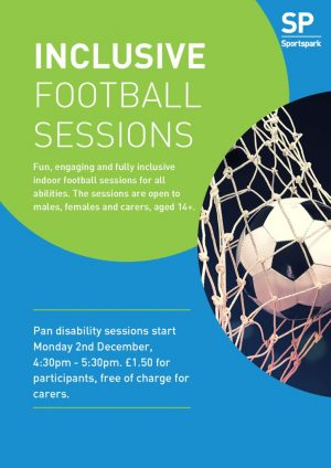 thumbnail of Inclusive football sessions