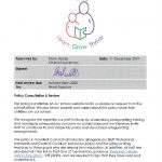thumbnail of Safeguarding Incorporating Child Protection Policy 2019