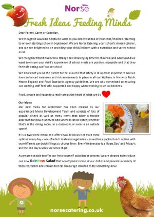 thumbnail of School Catering Info Sheet for Parents – Sept 2020