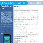 thumbnail of Online Safety Newsletter Sept 2020_The Parkside