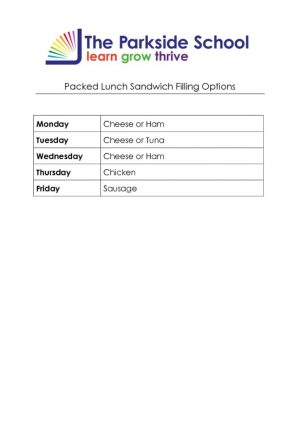 thumbnail of Packed Lunch Sandwich Filling Options 2020