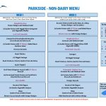 thumbnail of Parkside – Non Dairy Menu