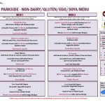 thumbnail of Parkside – Non Gluten, Dairy, Egg and Soya Menu
