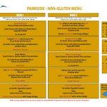 thumbnail of Parkside – Non Gluten Menu
